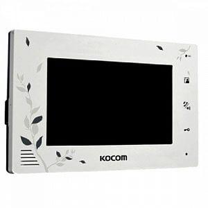 Монитор видеодомофона цветной KCV-A374SD LE XL (белый)