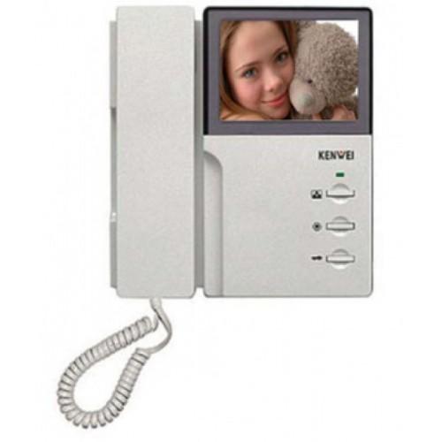 Фото 1 - Монитор видеодомофона цветной KW-4HPTNC XL.
