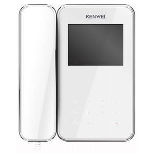 Фото 4 - Монитор видеодомофона цветной KW-E350C (белый).