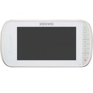 Фото 14 - Монитор видеодомофона цветной KW-E703FC-M200 Vizit (белый).