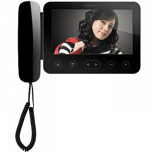 Монитор видеодомофона цветной KW-E705FC-W200 (черный)