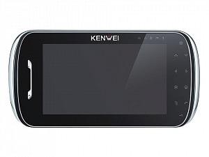 Фото 26 - Монитор видеодомофона цветной KW-S704C-W200 (черный).
