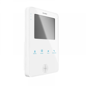 Фото 4 - Монитор видеодомофона цветной MS-04 (белый).
