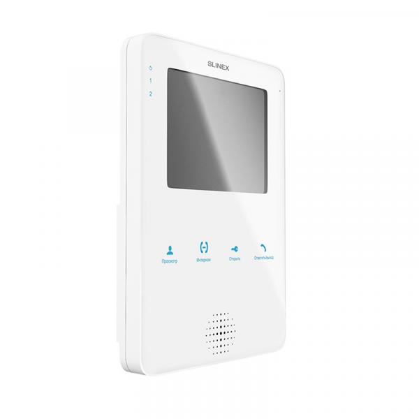 Фото 1 - Монитор видеодомофона цветной MS-04 (белый).