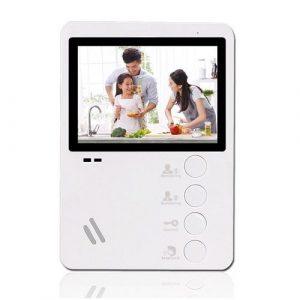 Фото 2 - Монитор видеодомофона цветной Optimus VM-E4.
