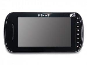 Фото 13 - Монитор видеодомофона цветной KW-E703FC-M200 (черный).