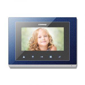 Фото 3 - Монитор домофона цветной с функцией «свободные руки» CMV-43S (синий).