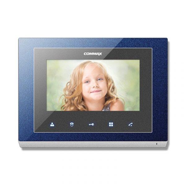 Фото 1 - Монитор домофона цветной с функцией «свободные руки» CMV-43S (синий).