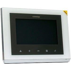 Монитор домофона цветной с функцией «свободные руки» CMV-70S (белый)