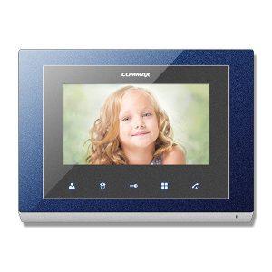 Фото 76 - Монитор домофона цветной с функцией «свободные руки» CMV-70S (синий).