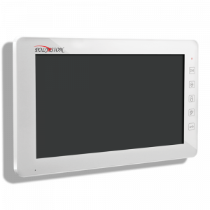 Фото 6 - Монитор домофона цветной с функцией «свободные руки» PVD-10L v.7.1 white.