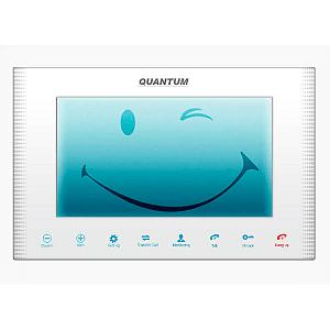 Монитор домофона цветной с функцией «свободные руки» QM-H100C/M (белый)