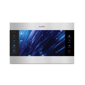 Фото 2 - Монитор домофона цветной с функцией «свободные руки» SL-10M v.2 (серебро+черный).