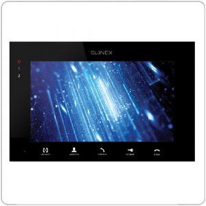 Фото 14 - Монитор домофона цветной с функцией «свободные руки» SQ-07MT (черный).