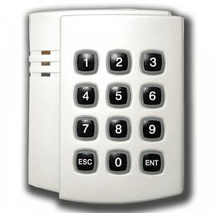 Фото 1 - Считыватель proxi-карт со встроенной клавиатурой Matrix-IV-EH Keys (светлый перламутр).