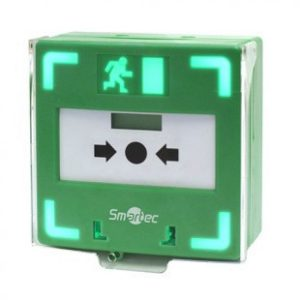 Устройство разблокировки двери с восстанавливаемой кнопкой активации ST-ER116TLS-GN
