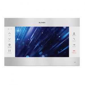 Цветной видеодомофон SL-10M v.2 (серебро+белый)