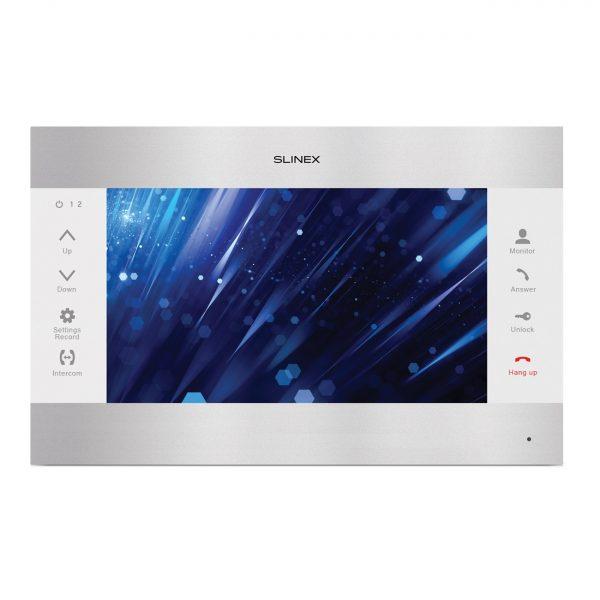 Фото 1 - Цветной видеодомофон SL-10M v.2 (серебро+белый).
