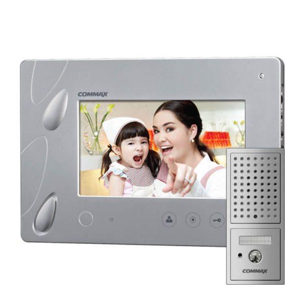 Фото 1 - CDV-70P (серебро) Монитор видеодомофона цветной с функцией свободные руки.