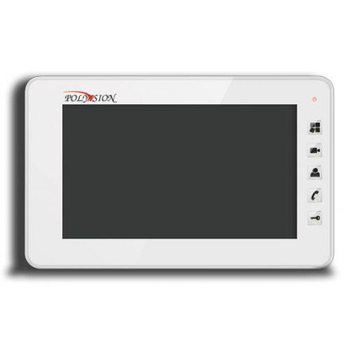 Фото 1 - PVD-7S v.7.1 (белый) Монитор домофона цветной с функцией свободные руки.