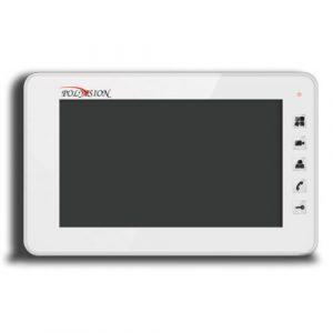 Фото 4 - PVD-7S v.7.3 (белый) Монитор домофона цветной с функцией свободные руки.