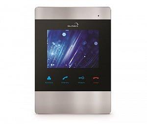 SM-04M (серебро) Монитор домофона цветной с функцией свободные руки