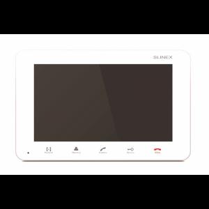 Фото 3 - SM-07M (белый) Монитор домофона цветной с функцией свободные руки.