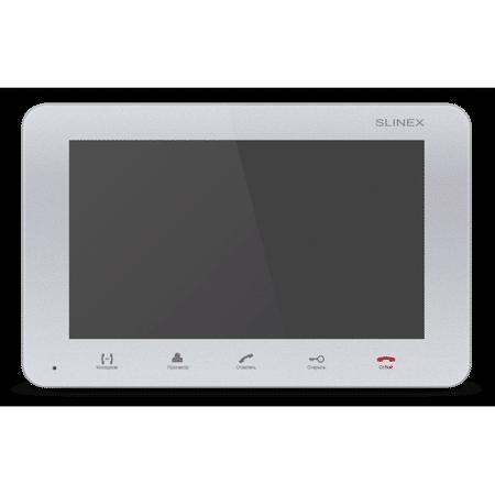 Фото 1 - SM-07M (серебро) Монитор домофона цветной с функцией свободные руки.