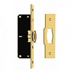 Фото 1 - Защёлка дверная KALE 155 В золото.