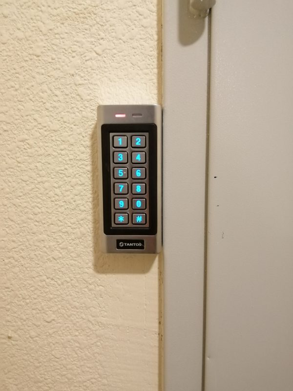 Фото 8 - Комплект электромагнитного кодового замка.