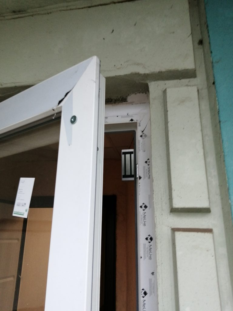 Установка двух комплектов Вход по ключам ТМ, Два магнитных замка на одну дверь