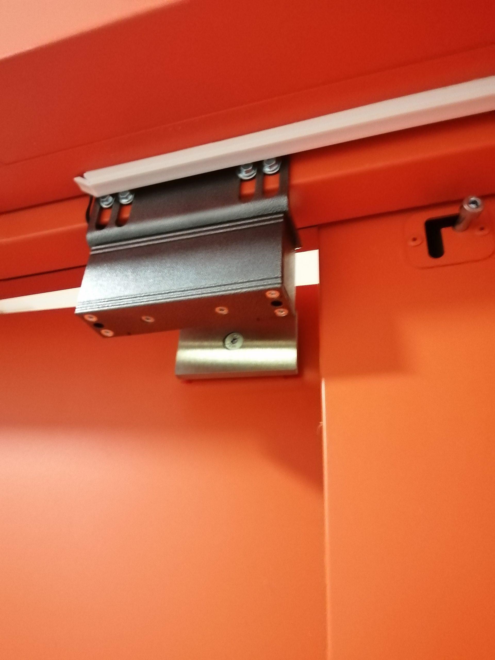 Установка комплекта магнитного замка Вход по кодовой панели